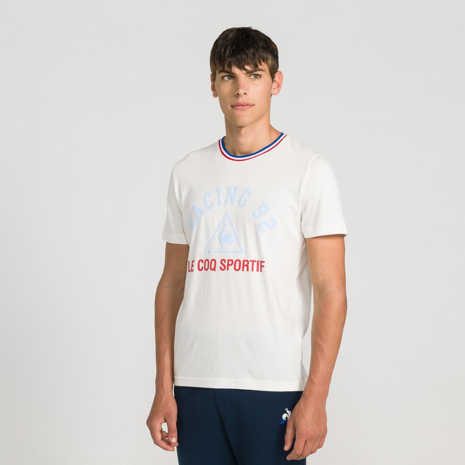 T-shirts – Le Coq Sportif Racing 92 Presentation T-shirt White