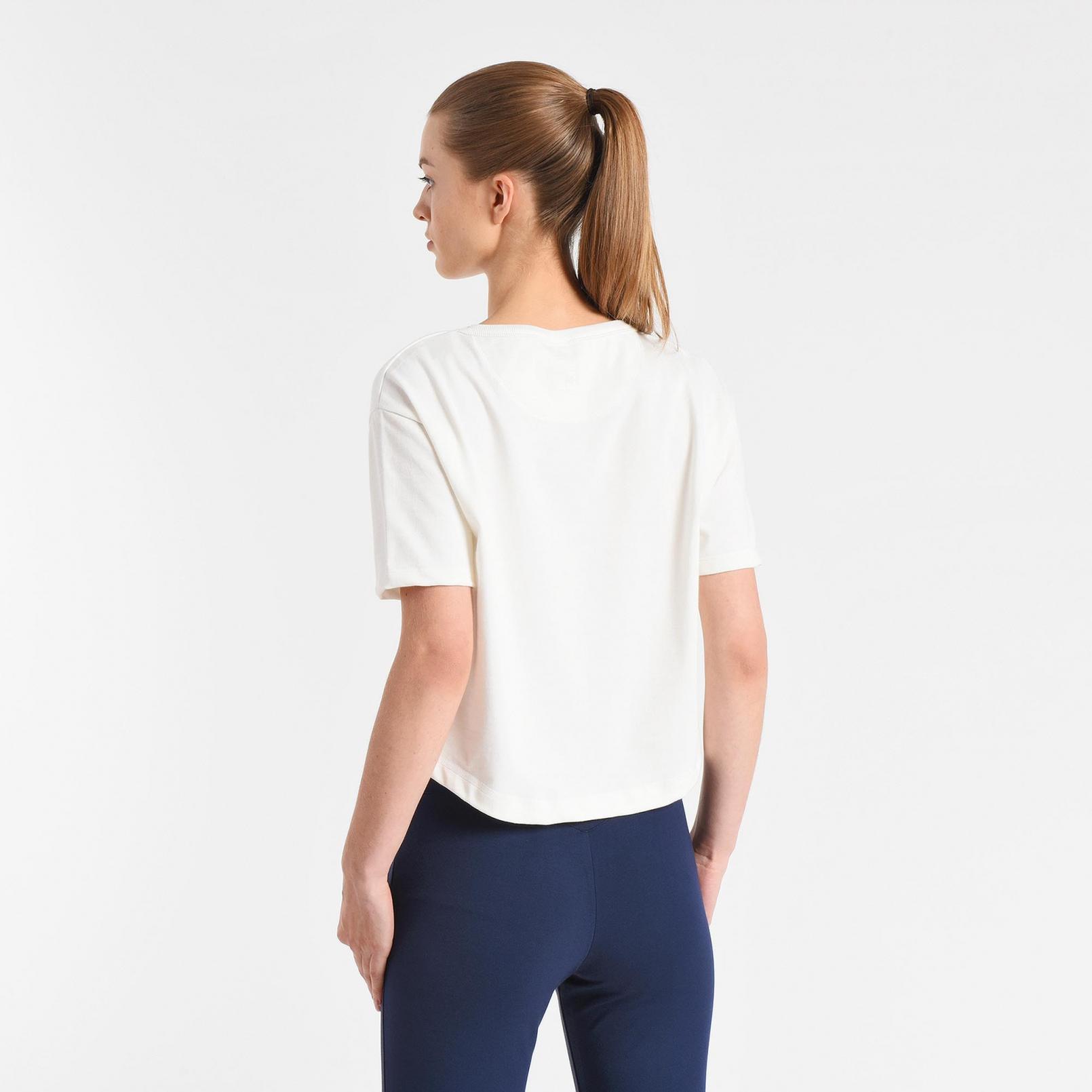T-shirts & polos – Le Coq Sportif Tricolore 1882 T-shirt White