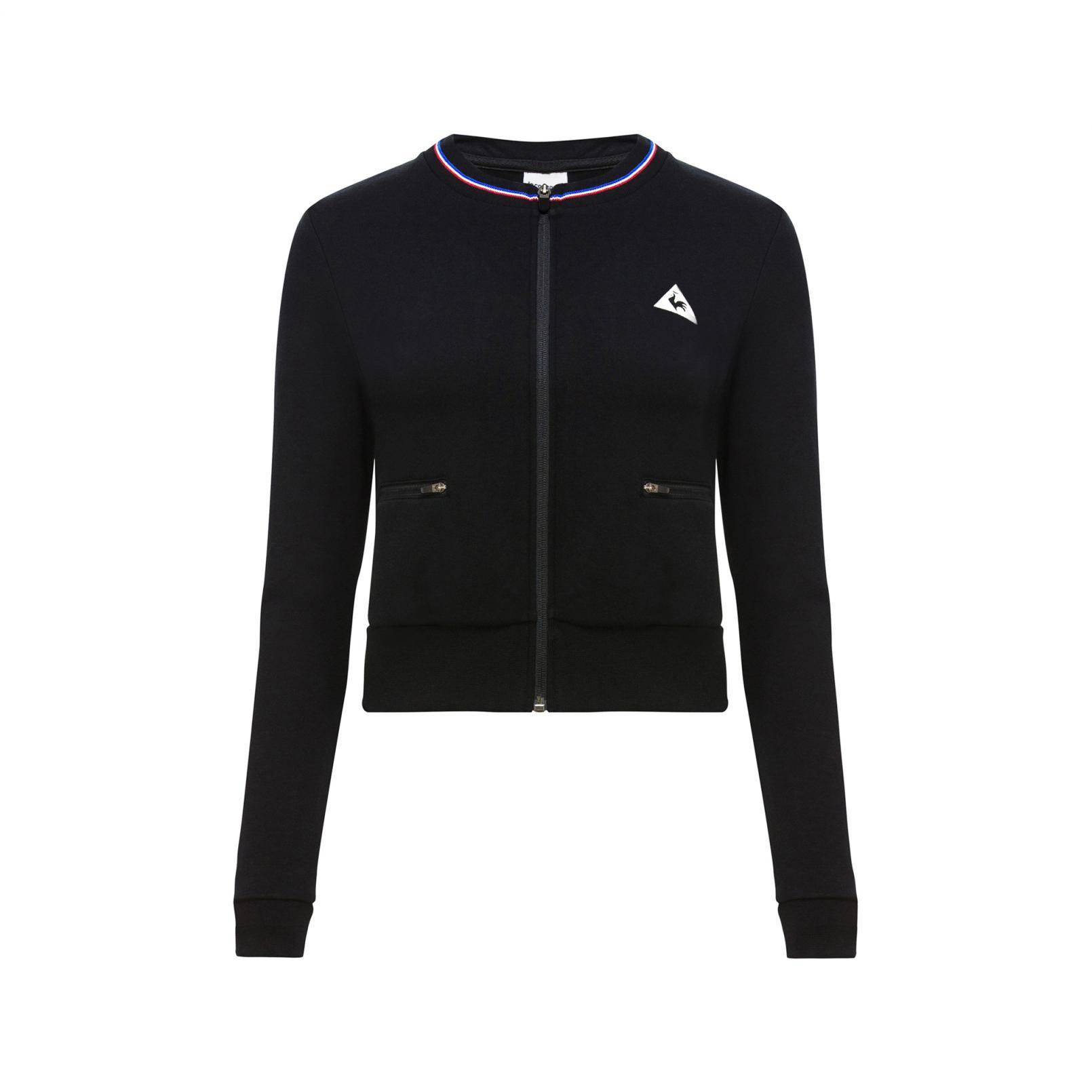 Tracktops & Jackets – Le Coq Sportif Tricolore Tracktop Black
